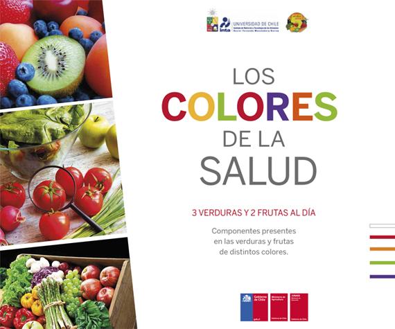 Libro Los Colores de la Salud, 3 verduras y 2 frutas al día - 5 al día